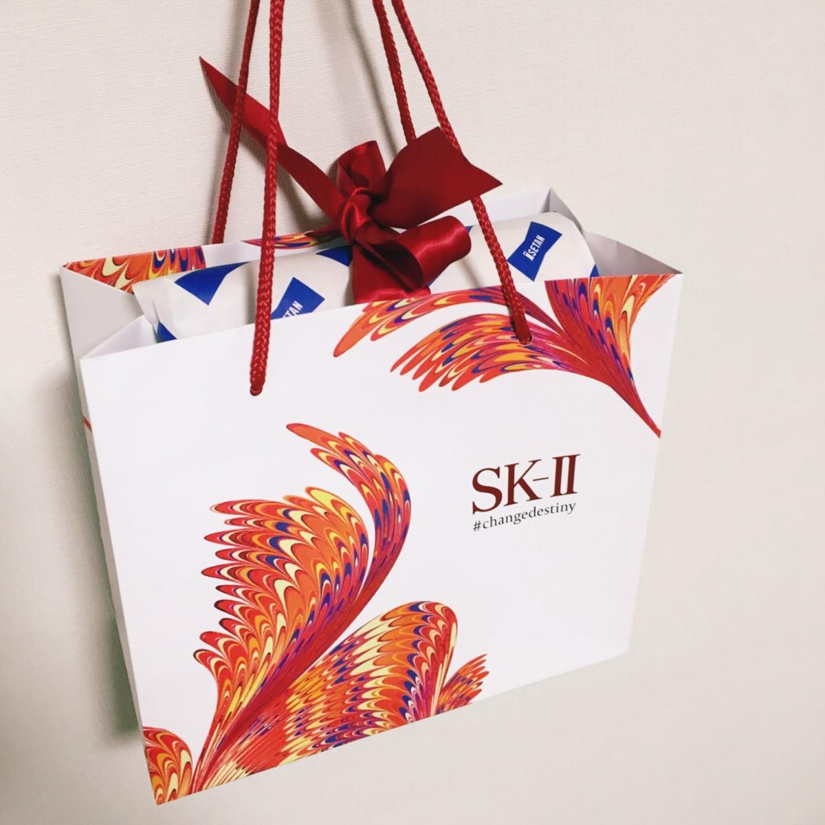 わたしのクリスマスコフレ第一弾はSK-II♡