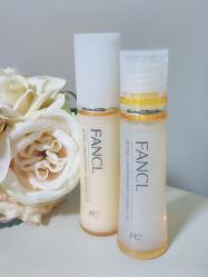 シンプルな2ステップが嬉しい★ファンケルこだわりの無添加化粧液&乳液