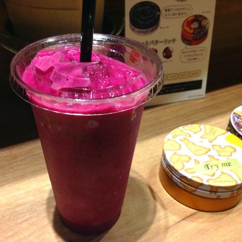 食べるフルーツティーとスムージー!ベキュアハニーのハニーズキッチン@渋谷modi