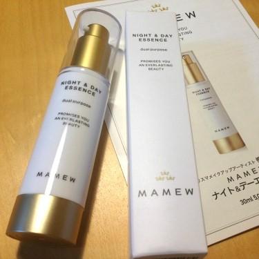化粧下地で美容液な「MAMEW ナイト&デーエッセンス」でインナードライ改善