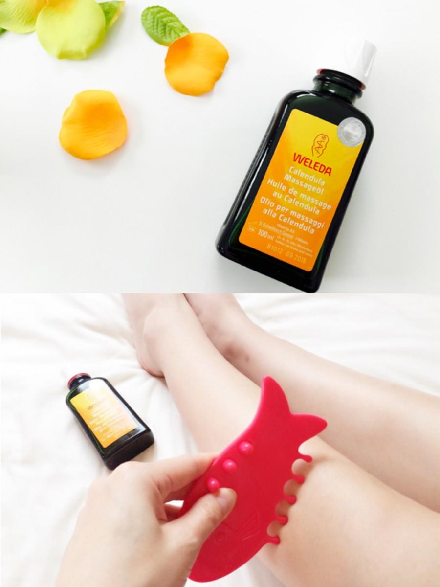 【むくみ・冷え対策】WELEDA初の万能マルチユースオイル「カレンドラマッサージオイル」で肌と心を解き放つ❤️
