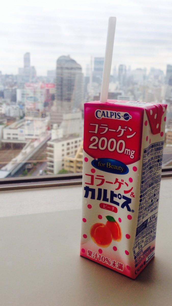 【美味しくキレイ】コラーゲン&カルピス