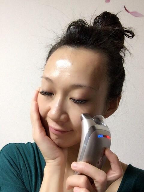 【美顔器】ヤーマンアセチノエレクトロボーテ チークリフト でスッキリ顔を維持!