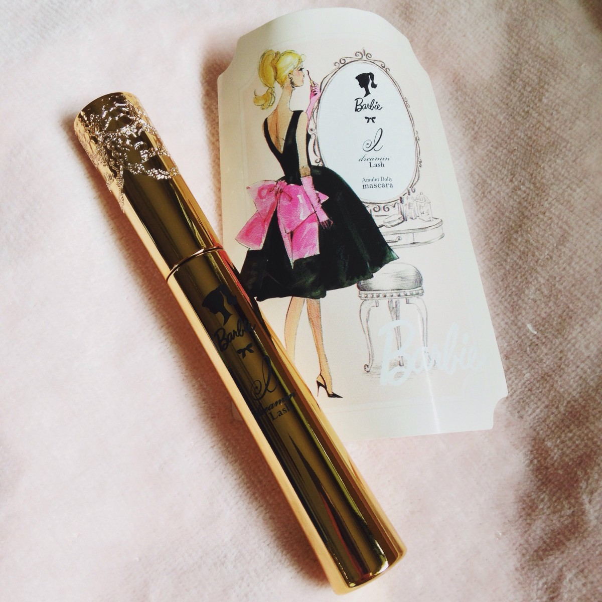 かわいすぎるバービー×ドリーミンラッシュ Amulet Dolly mascara