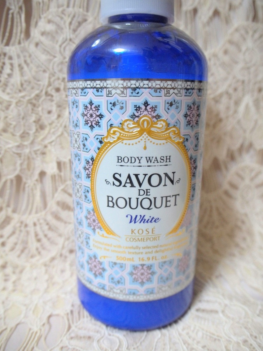 【NEW】SAVON DE BOUQUET ホワイトボディウォッシュ