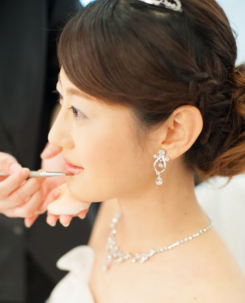結婚式ヘアメイク♡ その1
