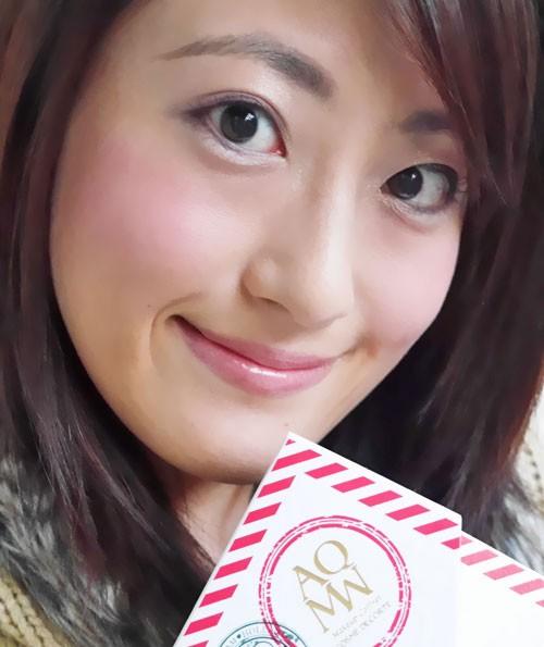 本日発売のメイクアップコフレで早速メイク♡コスメデコルテAQMW