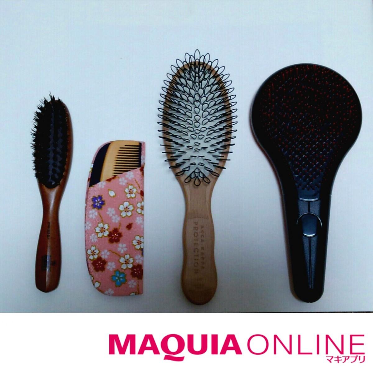 ◆さらツヤ髪はブラシの使い分けがカギ◆