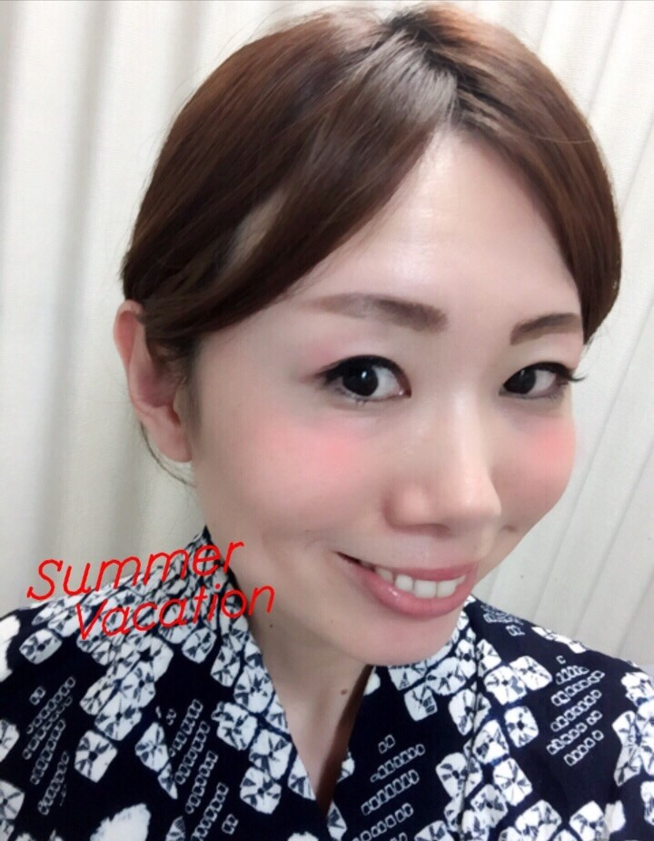 夏もすぐそこ♪浴衣に合わせたメイク♡MAQUIA8月号を参考にしました