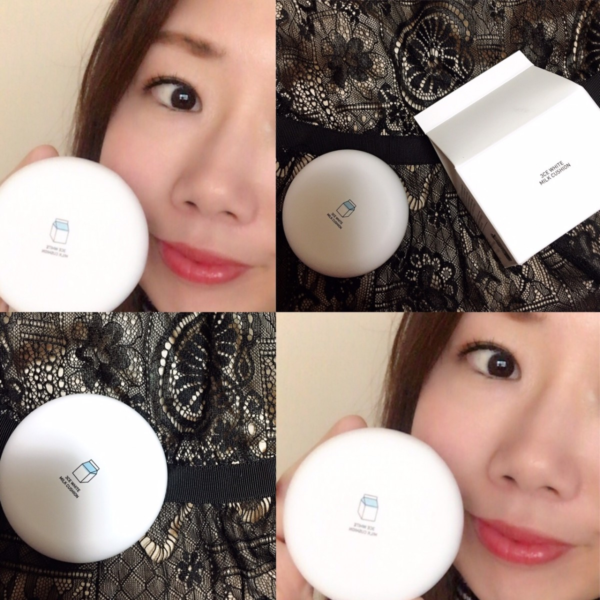 【韓国コスメ】インスタで人気3CEのミルククッションをアラフォーがレポート♡  艶と透明感のある肌が簡単に作れるクッションファンデに夢中です