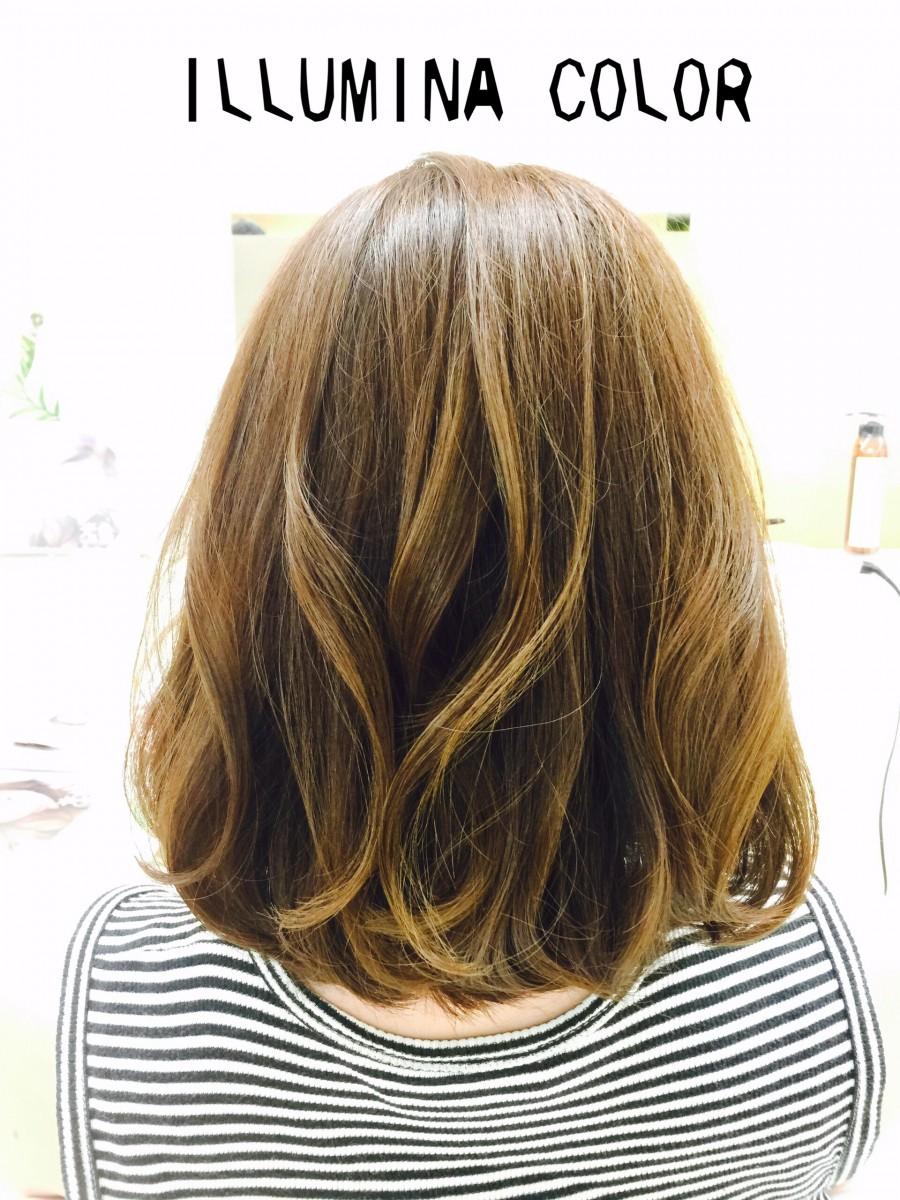 髪にも艶を♡秋のヘアカラーは話題のイルミナカラーが一押しです♡