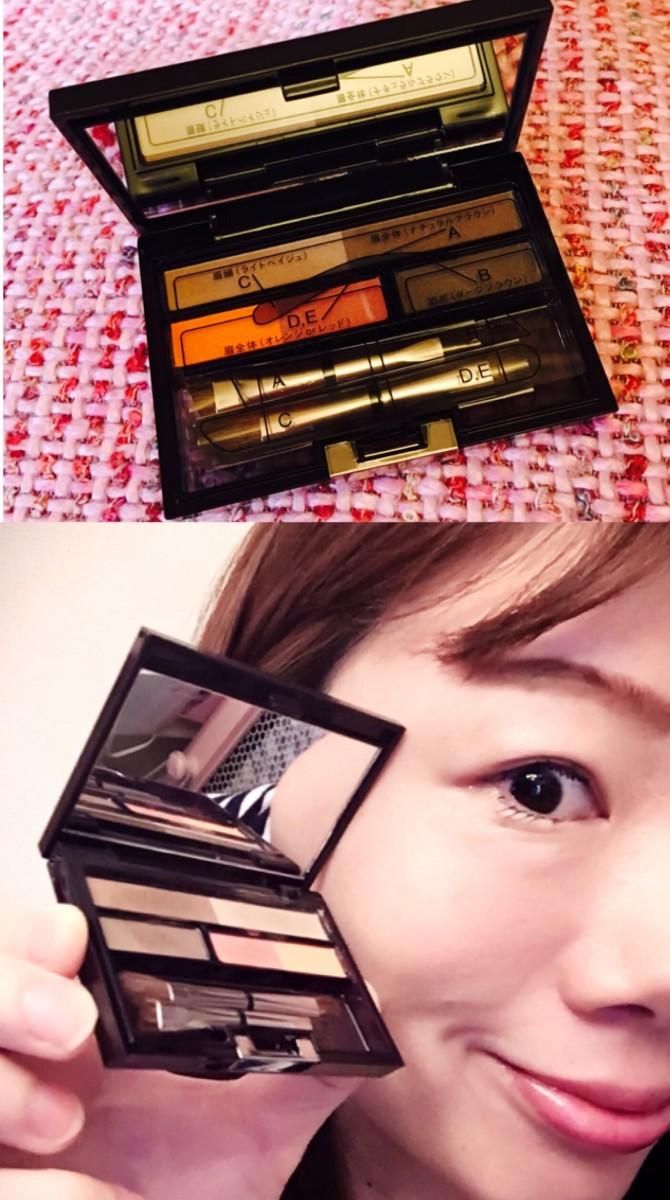 今年の眉のポイントは仕上げのレッドとオレンジ♡話題のイプサのアイブロウパレットGET♡