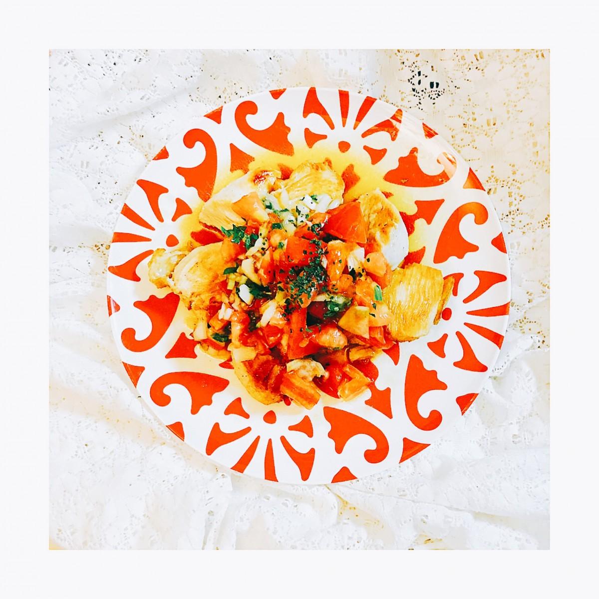 『美白レシピ』  夏バテ・ダイエット・アンチエイジングにお肉と野菜で食べごたえたっぷり!身体の中から美白ケア。