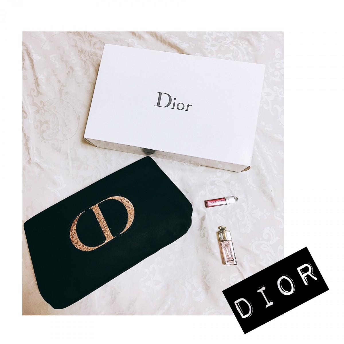 売り切れ必須!Diorのコスメ購入プラス1400円で買えるお得なポーチ!今年のは特に素敵です♡