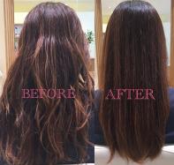 【髪質改善・毛髪修復】 傷んだ髪が蘇る!ベースメイクで髪の広がり、うねりのお悩み解決!!