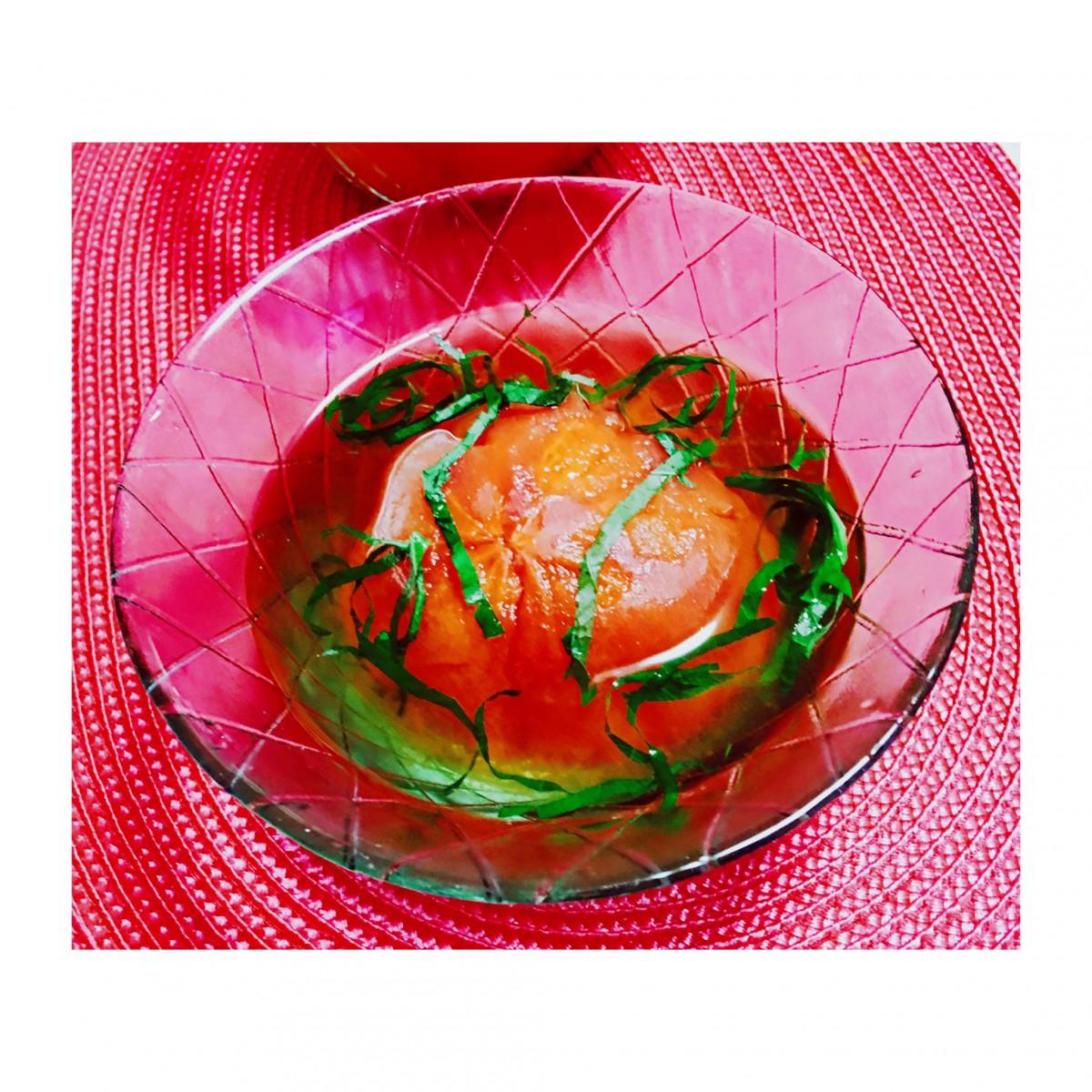 【簡単美レシピ】エイジング・紫外線対策にトマトの力♡