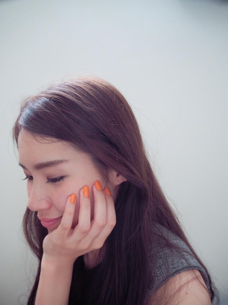 【指先まで綺麗と言われたい!】オレンジ単色で夏ネイルにチェンジ♡