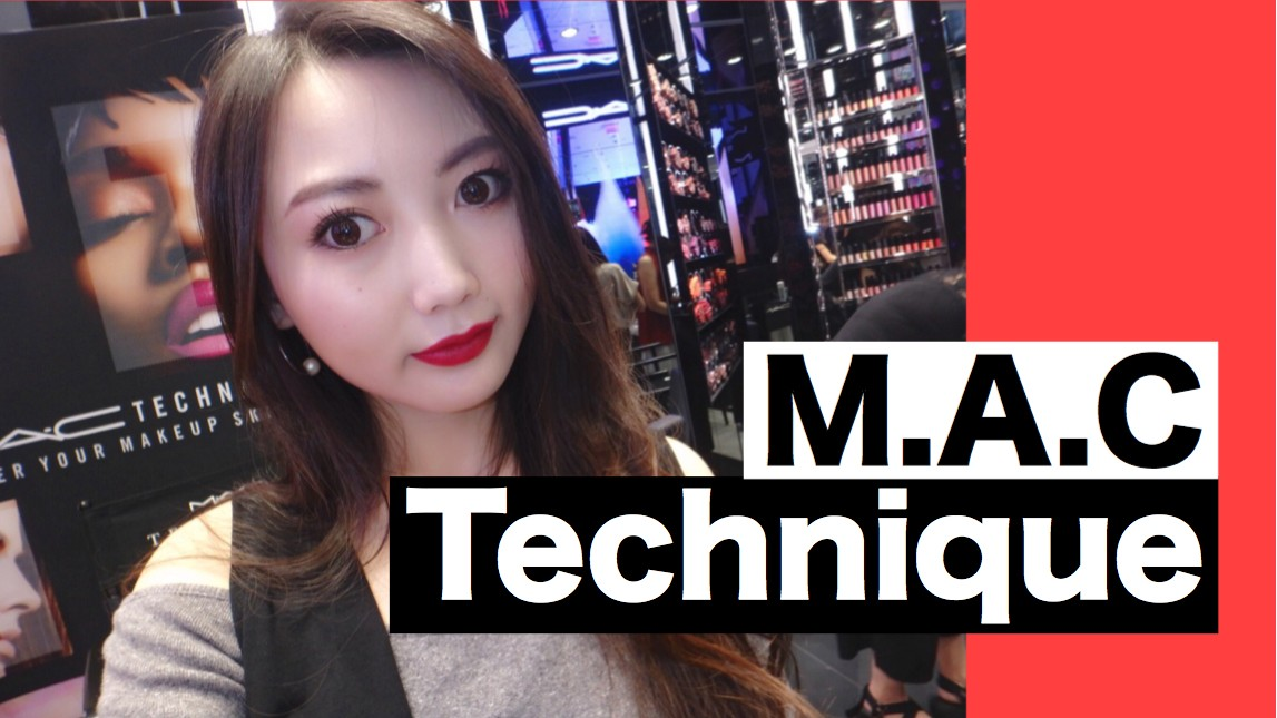 【動画あり】M.A.Cテクニック・レッスンの様子をご紹介♡