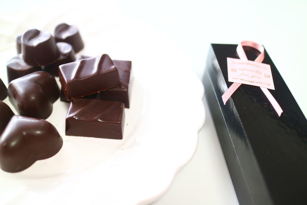 美しくなるチョコレートでバレンタイン.