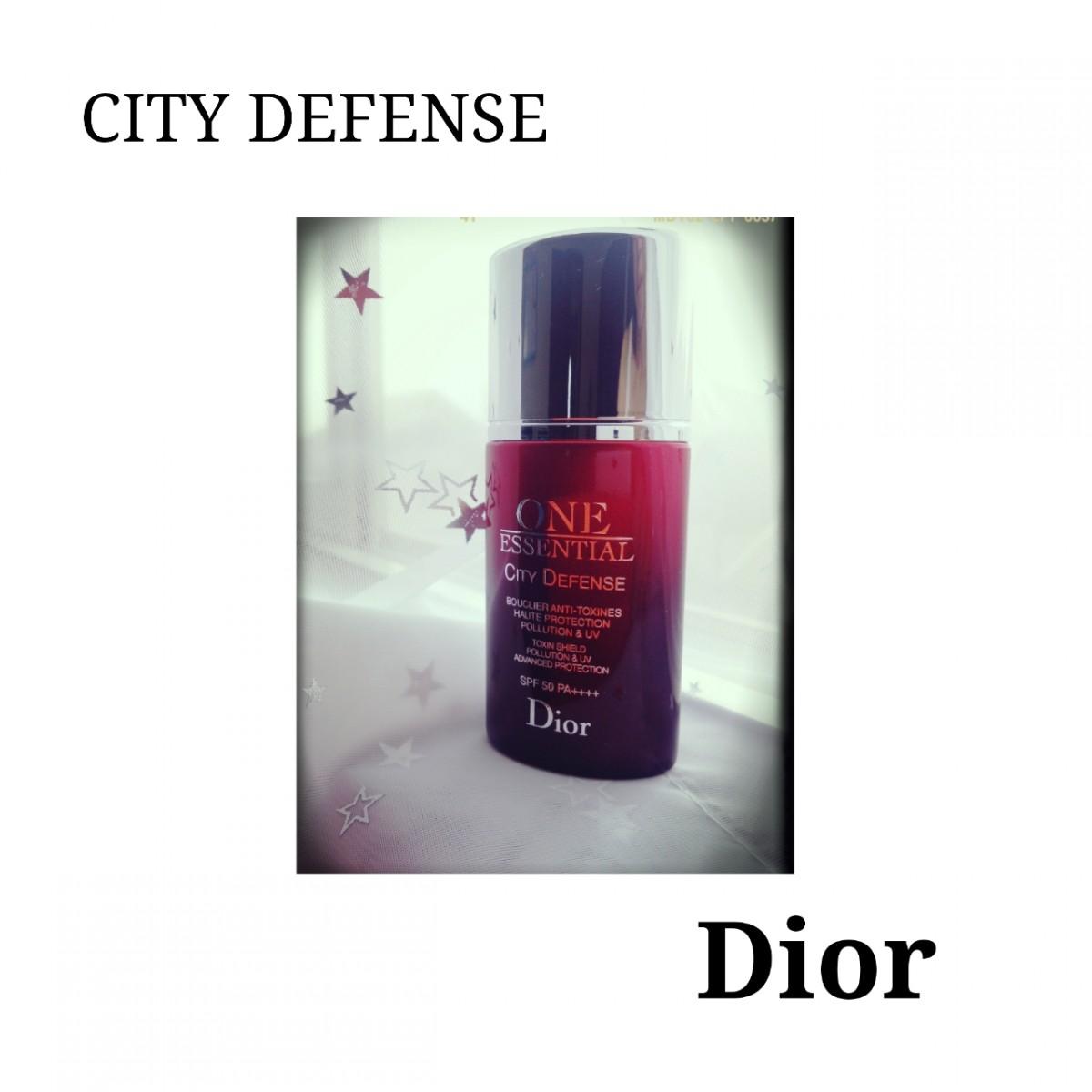 City Defenseでお肌を守る!