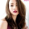 沢尻エリカさんが秋の最注目カラー、ラズベリーピンクのリップで魅惑する!