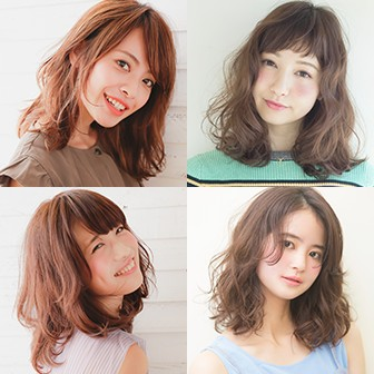 愛され度ナンバー1【ミディアムヘアのカタログ】