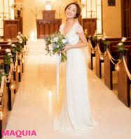 """神崎恵さんが想う""""結婚式""""「いまウエディングドレスを着るなら...」"""