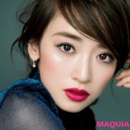 千吉良恵子さんの神ワザ小顔テク! 仕込みチークで頬幅を狭める&長めアイラインで目幅拡張