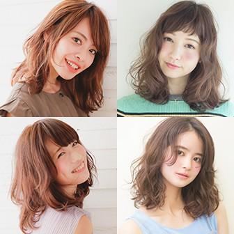色っぽ限定♡ ロブ~ミディアムのヘアカタログ