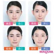 """あなたの顔タイプを診断! 小田切ヒロさんの""""小顔メイク""""は、光と影を操るのが必勝セオリー"""