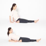 太ももの筋肉の緊張をやわらげ軽やかに!【脚のむくみ解消ストレッチSTEP5】