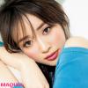 泉里香さんはジューシーリップで品よくオトナ顔! 夏でも渋めカラーが気分