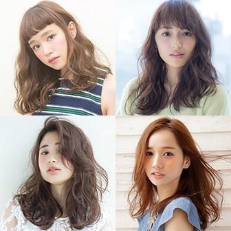 【髪の長さ別】 最新ヘアカタログ