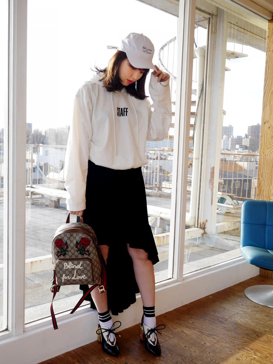 ある日の私服【こじはるブログ】