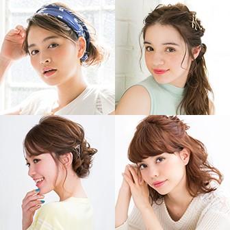 髪の長さ別・今っぽ美人のヘアカタログ