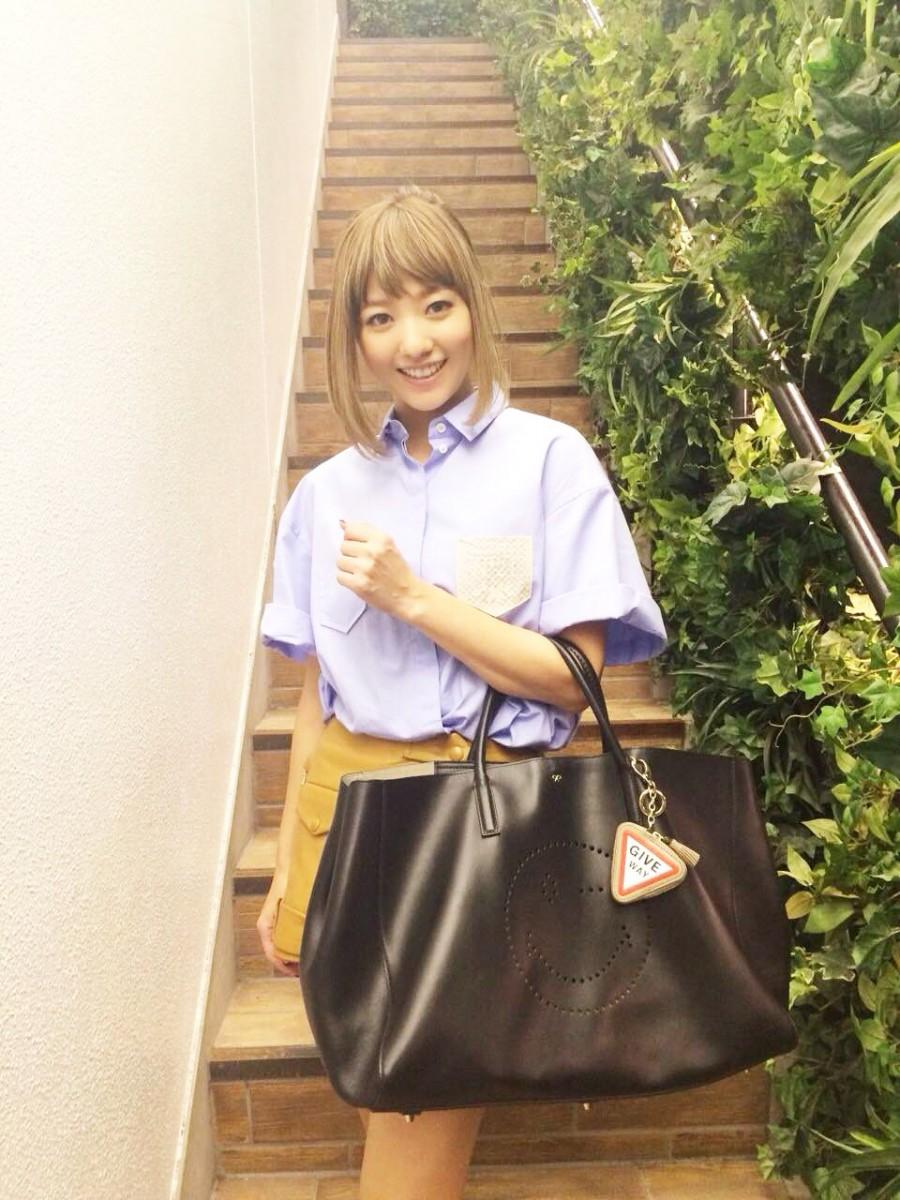 アニヤ ハインドマーチの新作バッグ買っちゃった♡ 【伊藤千晃のBijyo Diary】