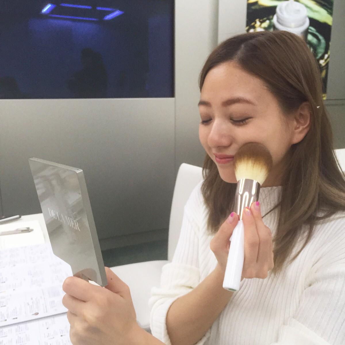 憧れの『ドゥ・ラ・メール』のコスメを堪能♡【伊藤千晃のBijyo Diary】