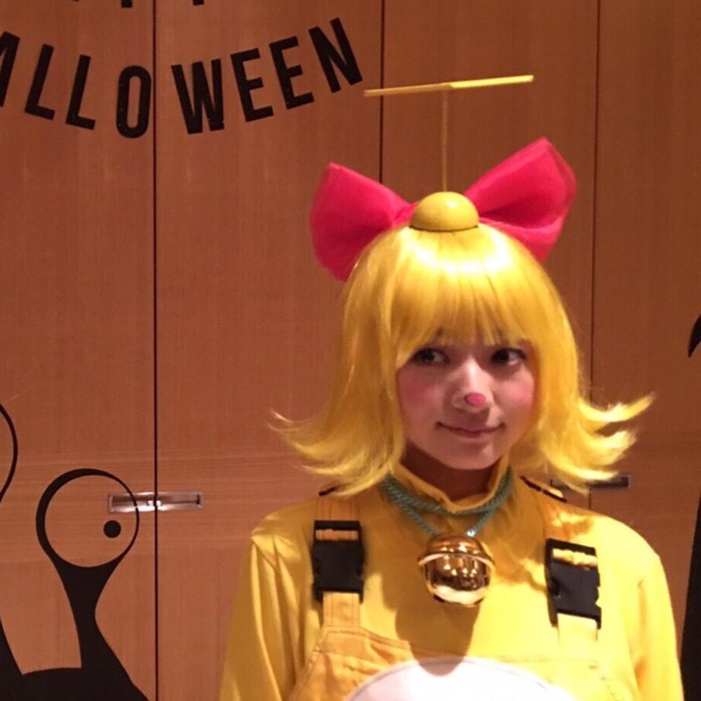 今更ですが、ハロウィンの仮装を公開!【伊藤千晃のBijyo Diary】