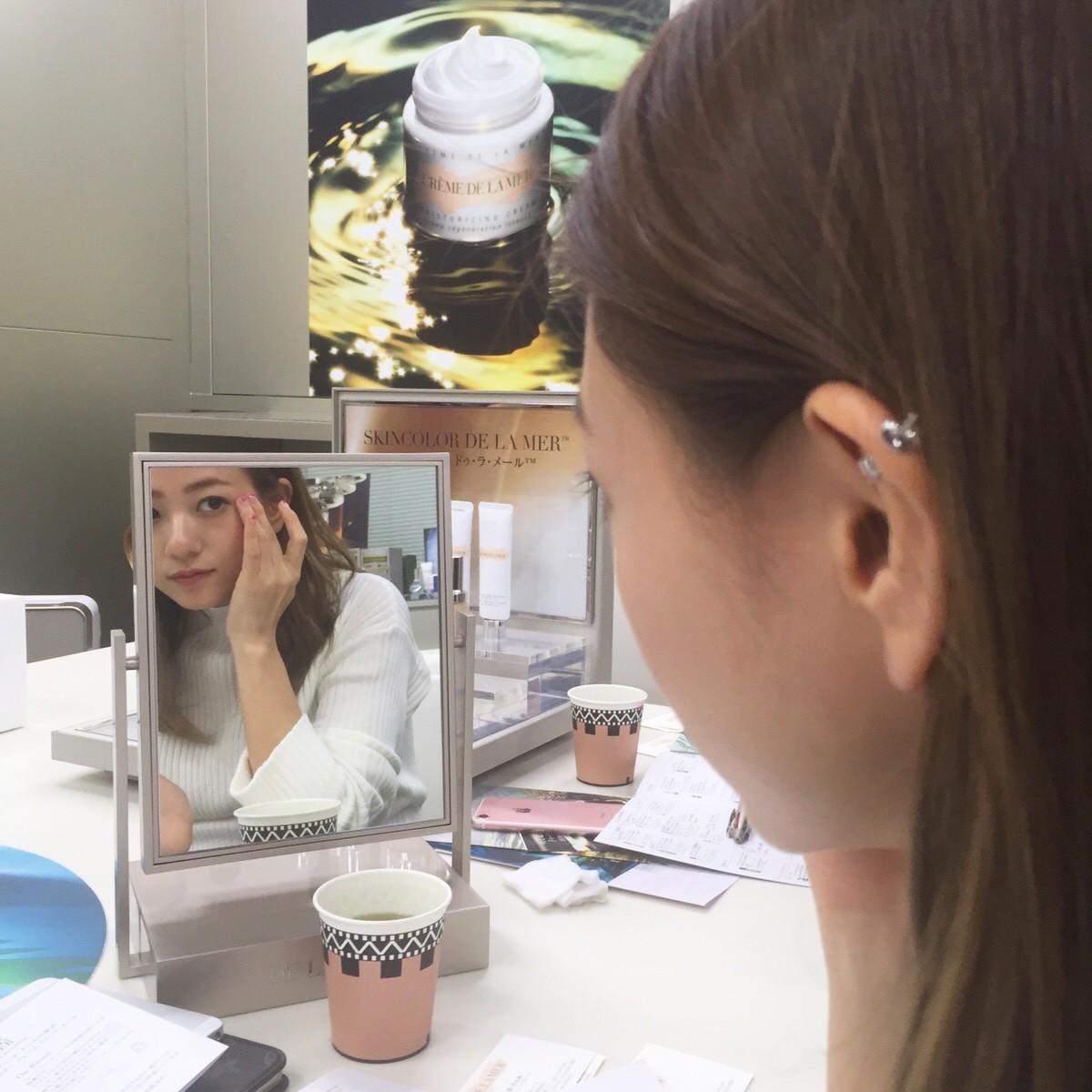 憧れの『ドゥ・ラ・メール』のコスメを堪能♡【伊藤千晃のBijyo Diary】_1_3