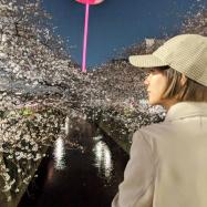 目黒川でお花見したよ【伊藤千晃のBijyo Diary】