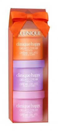 幸せを引き寄せるスウィートな3種の香りのボディ クリームがセットに!