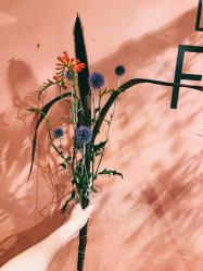 花と靴とジュエリー