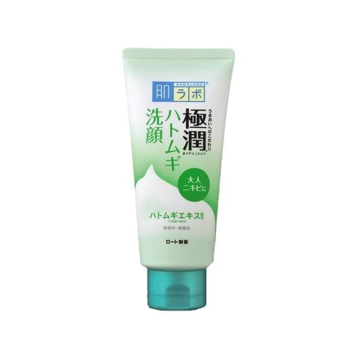 極潤ハトムギ洗顔フォーム