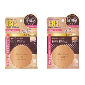 モイストラボ 明色化粧品 BBミネラルプレストパウダー