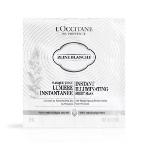 ロクシタン(L'OCCITANE) ロクシタンジャポン レーヌブランシュ イルミネイティングシートマスク