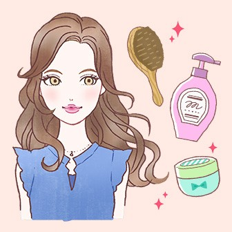 目指せ!サラサラのモテ髪 美髪診断でチェック