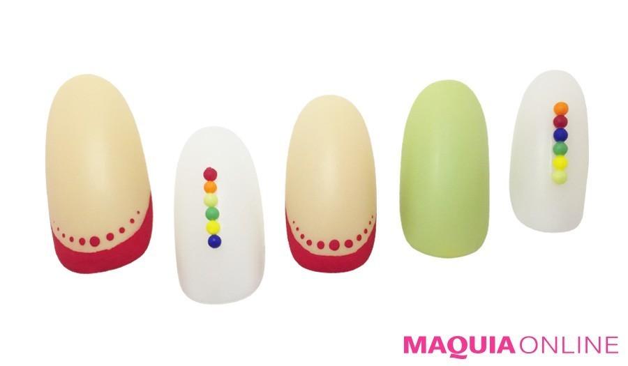 カラー、シーン、デザインでおしゃれネイルを簡単検索!