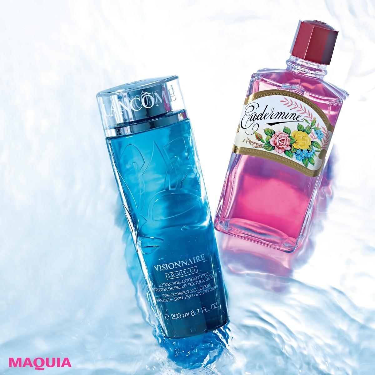 ニッポンの名水!化粧水の名品をまとめ読み