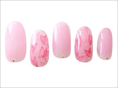 春満開! チェリーピンクネイル