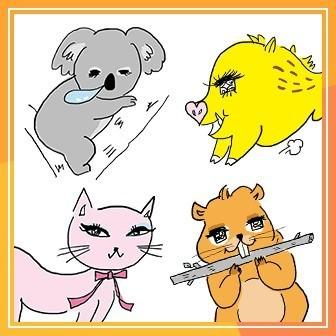 動物キャラであなたに合うダイエット法を診断!